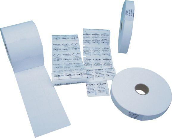 Etiqueta de nylon resinado