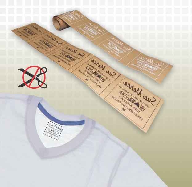 Etiqueta transfer para tecido