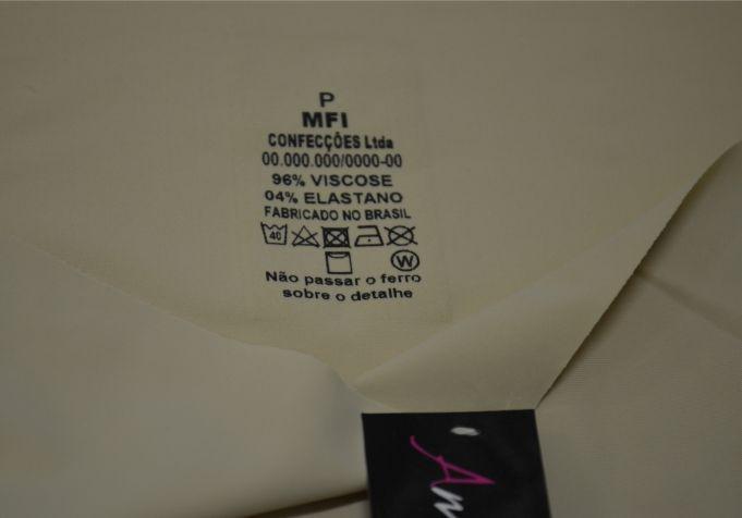 Etiqueta transfer preço