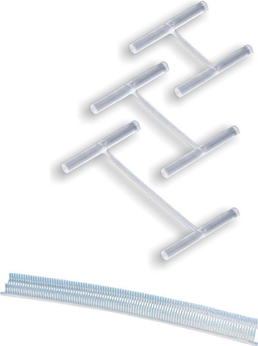 Pinos plásticos para tags